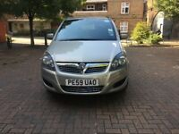 Vauxhall ZAFIRA 2009, 1.6L, Manual