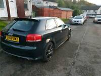 Audi S3. Pearl green. Low mileage engine