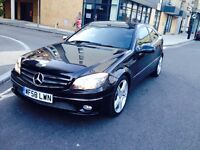 2008 Mercedes c class clc 180 Kompressor Sport Coupe Automatic Petrol 1.8 low miles black