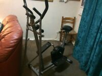 Excellent condition, hardly used cross trainer
