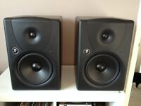 Mackie MR8 Mk1 Powered / Active Monitor Speakers (Pair)