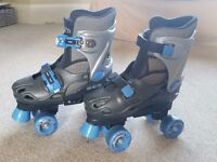 RD roller boots adjustable size 2-4 high quality padded boot