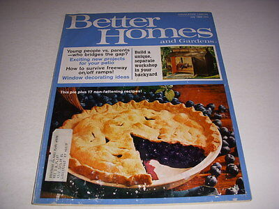 BETTER HOMES AND GARDENS Magazine, July, 1969, 60's Decorating, Patio - 60's Decorations Ideas