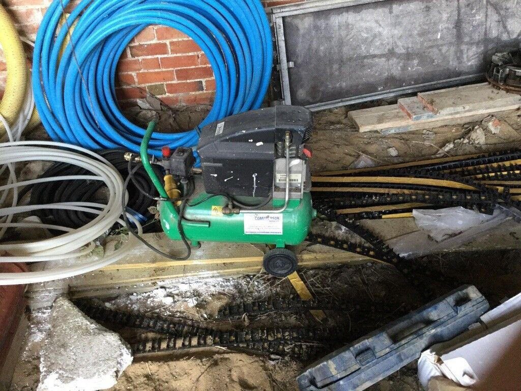 2hp 25l 8 3cfm air compressor 110v in good working order | in Peterborough,  Cambridgeshire | Gumtree