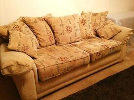 Suite of furniture , sofa group, 3+2+1 no reasonable offer refused