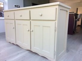 Solid wood painted sideboard for sale