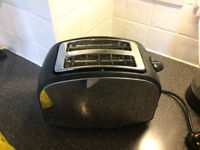 Cookworks 2-slice toaster - 5 months old.