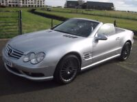 Mercedes SL 55 AMG convertible automatic