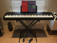 Casio CDP-120 Scaled Hammer Action Contemporary Digital Piano Touch Sensitive Keys