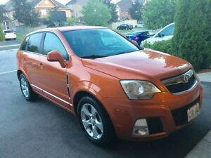 2008 Saturn Vue redline auto orange on black