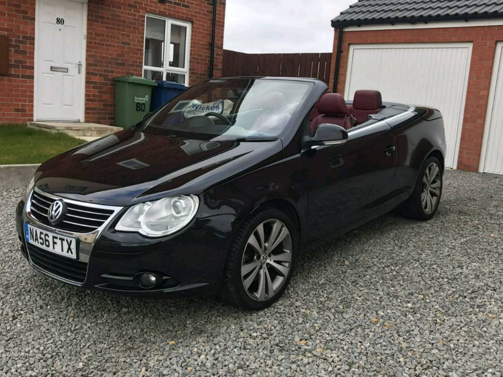 2006 vw eos 2 0 tdi sport red leather fsh in sunderland tyne and wear gumtree. Black Bedroom Furniture Sets. Home Design Ideas