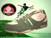 Odessa GS green white Men's Skate Shoe Trainer size 9