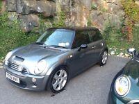 2005 Mini Cooper S, 68k miles, sports exhaust, grey on Black, low mileage! Best in Edinburgh?