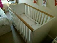 Next Cot and Toddler Bed