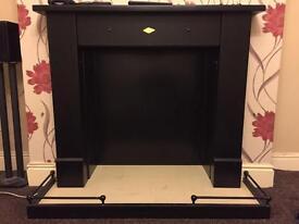 Handmade fireplace