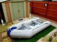 Inflatable dinghy 3.2 metres- 15hp