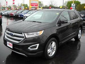 2015 FORD EDGE SEL- REAR VIEW CAMERA, BACKUP SENSOR, HEATED FRON