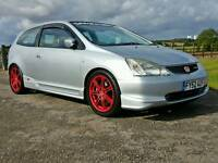 ***MODIFIED HONDA CIVIC TYPE R***