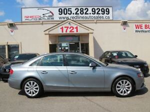 2010 Audi A4 AWD, Leather, Sunroof, WE APPROVE ALL CREDIT