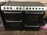 Belling range cooker gas and electric ovens 110 cm