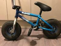 Blue seafoam Irok Rocker stunt bike