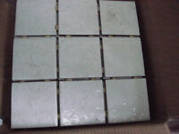 6 1/2 boxes of Elizabeth solar white tiles, approx 9sq m