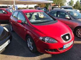 2008 1 OWNER FROM NEW SEAT LEON 1.9 TDI 4 DOOR