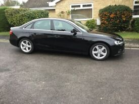 AUDI A4 2.0 TDI TECHNIC BLACK with BLACK LEATHER 2013