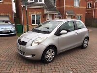 2008 TOYOTA YARIS T3 1.0 VVT-I, MOT JULY 2018, TWO OWNER CAR, HPI CLEAR
