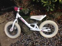 Girl's balance bike - Zharo brand. Age 2-4. Used but in a good condition.