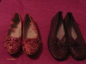Ladies Flat Shoes (2 pairs)