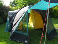 Lichfield Albatross 4 Person Family Tent in pristine condition