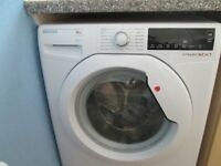 Hoover 1600 spin/speed 8kg load Washing Machine, excellent condition.