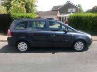 Vauxhall Zafira 7 seater. Lovely family car. Just serviced