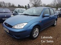 Ford Focus LX 1.6 Automatic, Will Come With New MOT, Only 3 Previous Owners, Drives Superb.