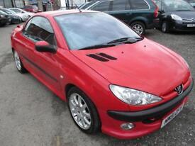 PEUGEOT 206 2.0 SE 2dr (red) 2002