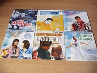 SELECTION OF CLIFF RICHARD AND ELVIS PRESLEY FILMS ON DVD