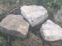 Good quality rockery stone