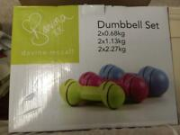 Davina dumbbell set
