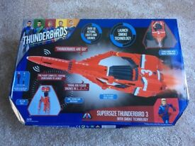 Thunderbird 3 Supersize with smoke tech. Brand new and unopened. iTV with 2 figures