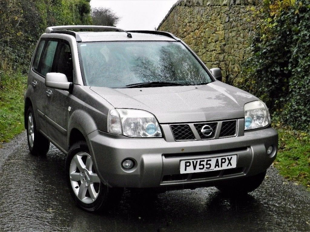 perfect 4x4 2005 nissan x trail sport dci diesel 6 speed manual long mot panoramic sun. Black Bedroom Furniture Sets. Home Design Ideas
