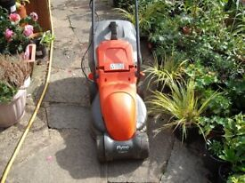 Electric Flymo Easimo Mower (with grass collection box) Full Working Order