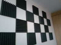 Acoustic Foam Wedge Tiles