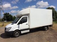MERCEDES SPRINTER 313 CDI DIESEL 2010 60-REG 14FT LUTON WITH TAIL-LIFT FULL SERVICE HISTORY