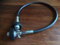 Diving decanting hose