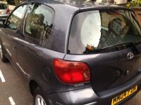 Toyota yaris 3 doors 2004 low miles excellent condition drives very smooth long mot hpi clear 2 keys