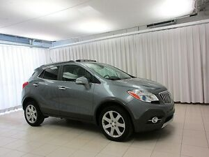 2014 Buick Encore Leather AWD SUV w/ MOONROOF, LEATHER & BACK UP