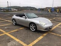 Porsche 911 Carrera 4 convertible **38k**
