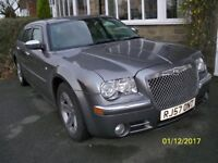 chrysler 300c automatic diesel estate in gunmetal grey only 86000 miles