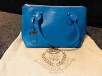 Blue Ralph Lauren Handbag